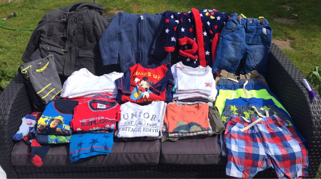 0-24 months various Boys clothing