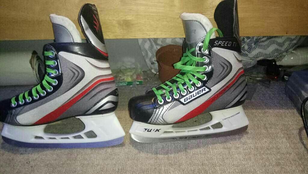 Bauer ti Ice skates size 6.5