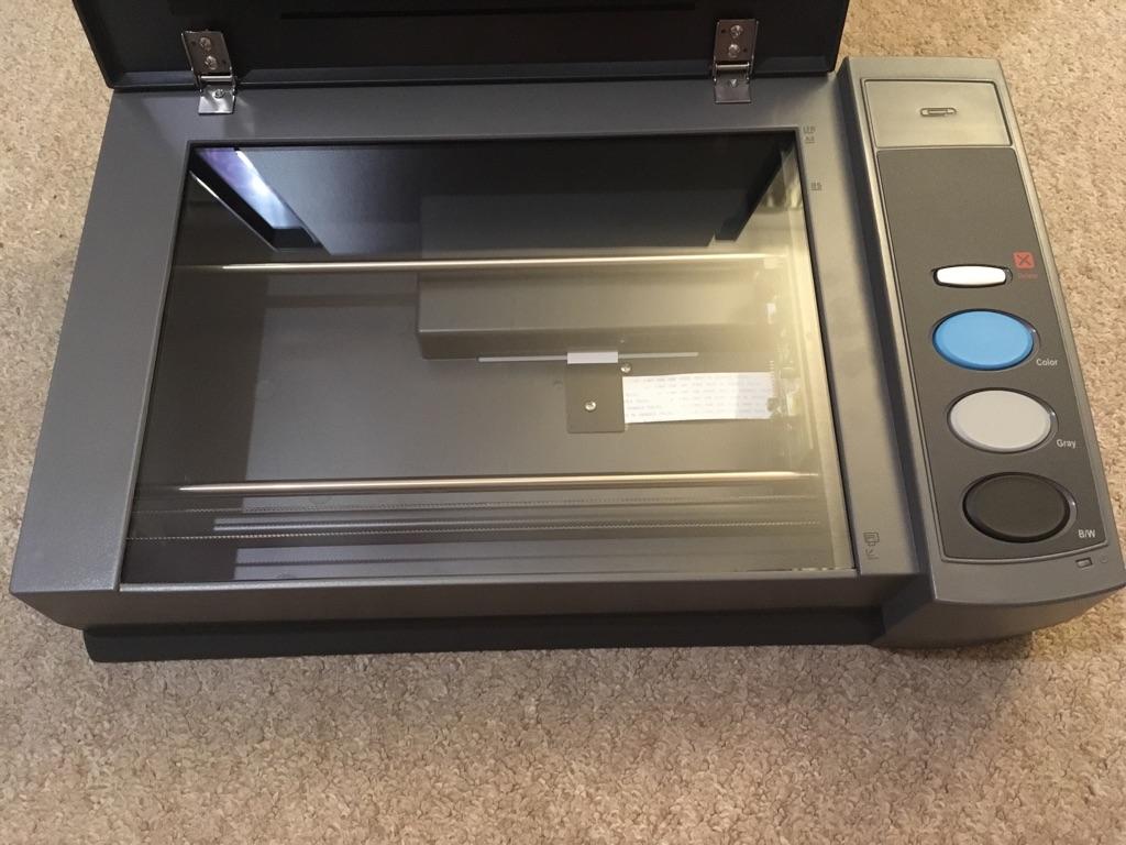 Plustek opticbook 3900 scanner