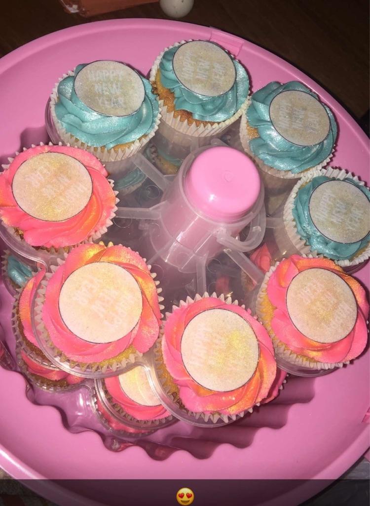 Gina and Seke's Cupcakes!