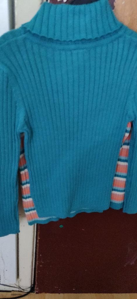 Tu girl's roll neck jumper's