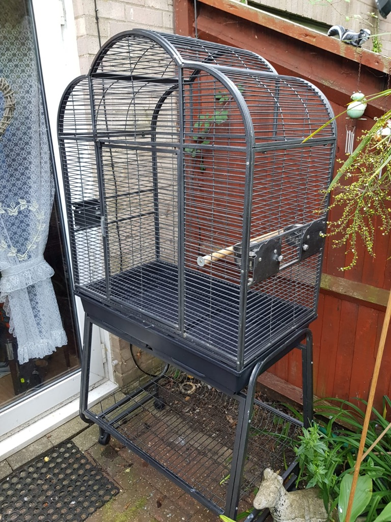 Metal bird cage. I will accept offers