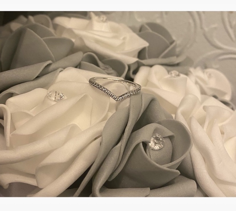 Genuine Pandora Wishbone ring (size 54)