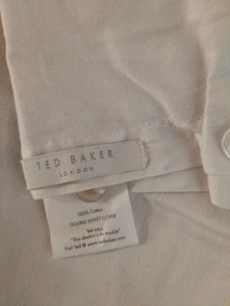 Ted Baker duvet and pillow cases