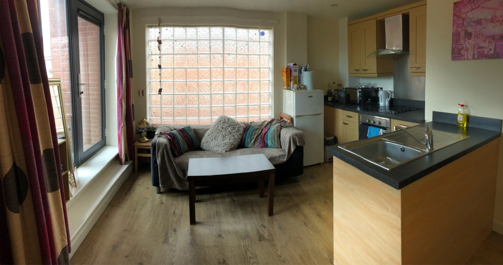 1 bedroom Sheffield City Centre flat to rent