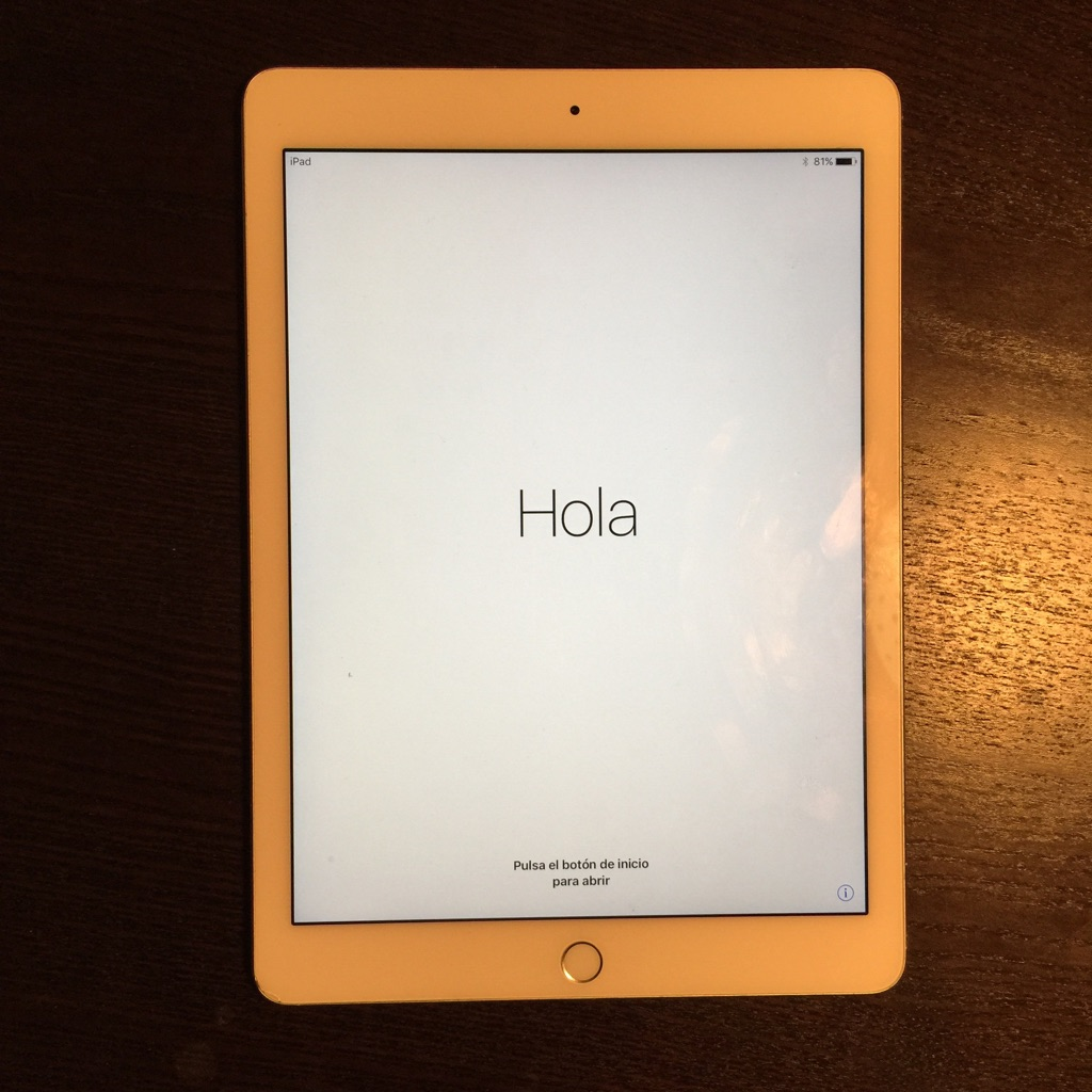 iPad Air 2 Silver 16GB