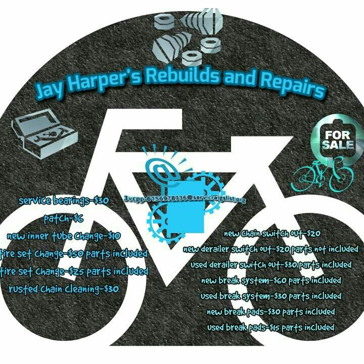 Jay Harper's reliable bike rebuilds, repairs, services and sales