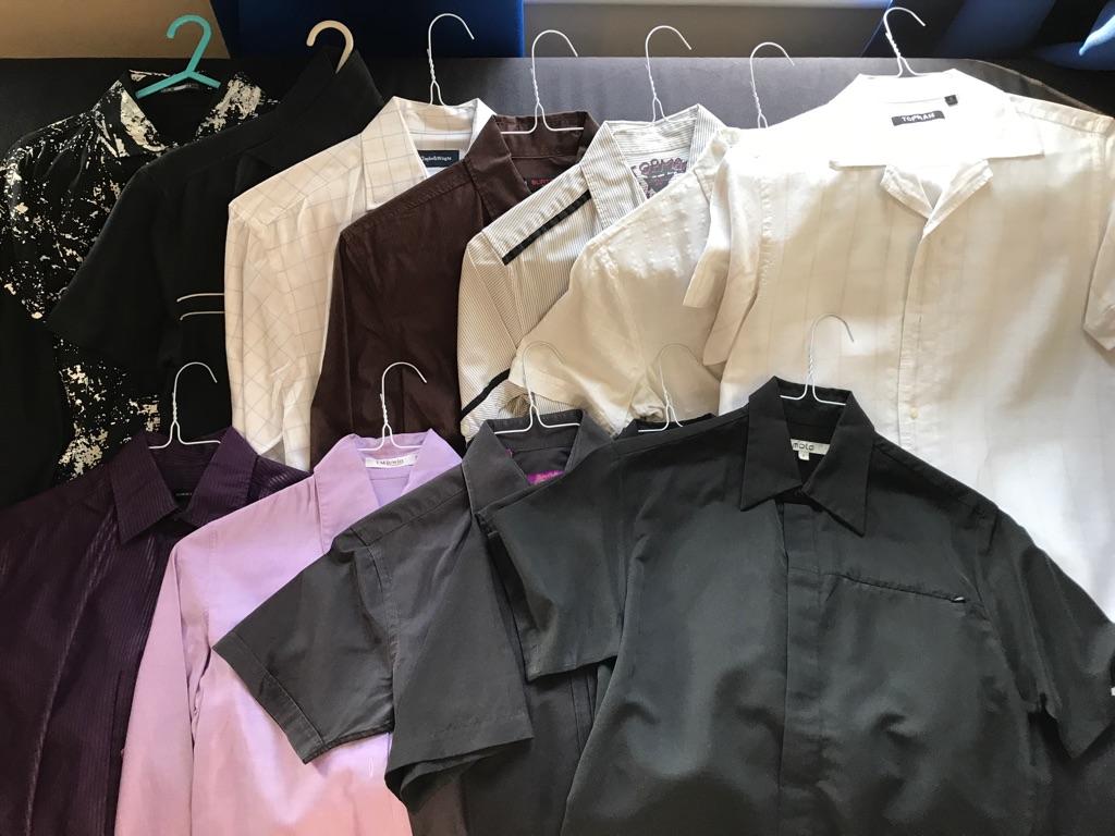 12 Men's Shirts
