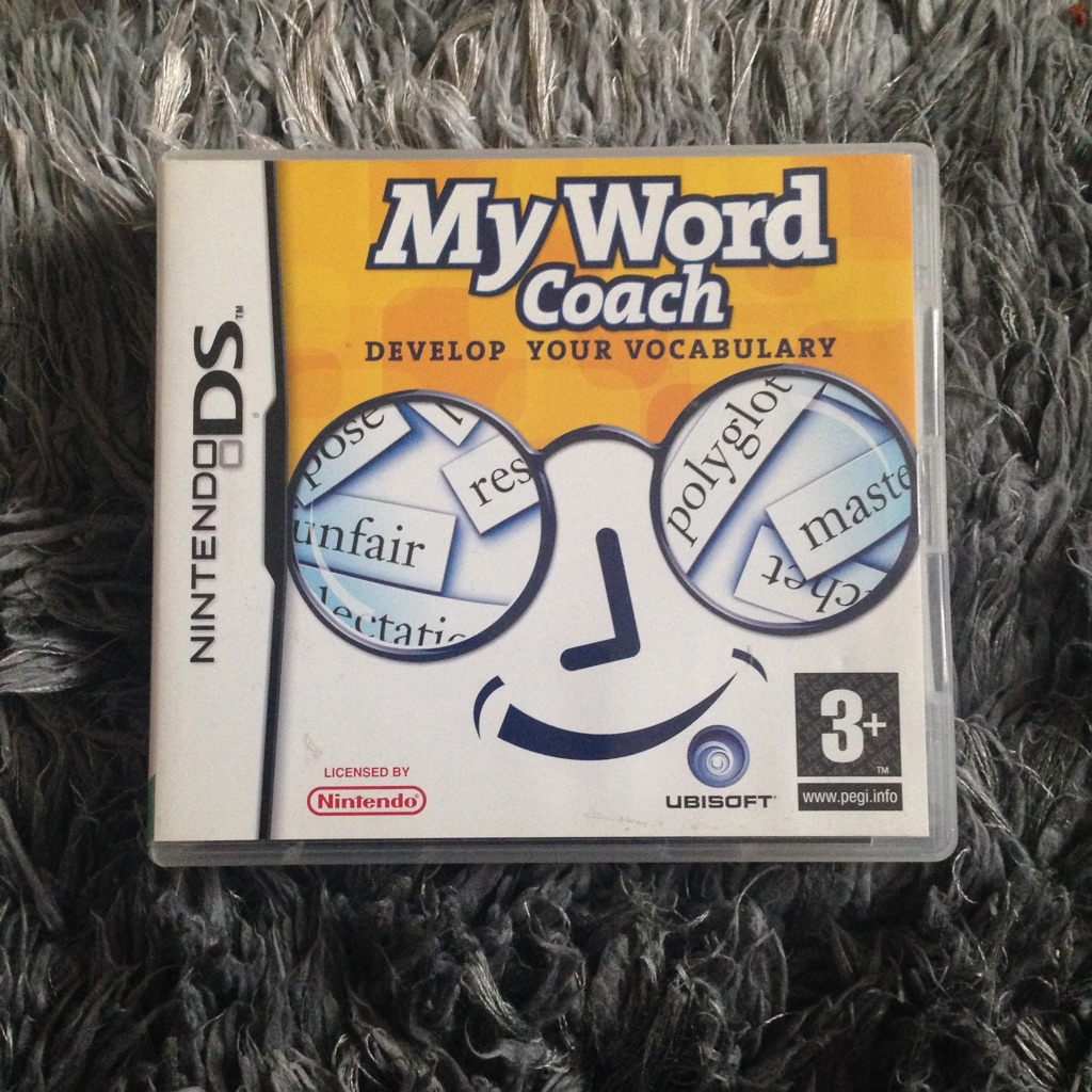 My Word Coach DS Game