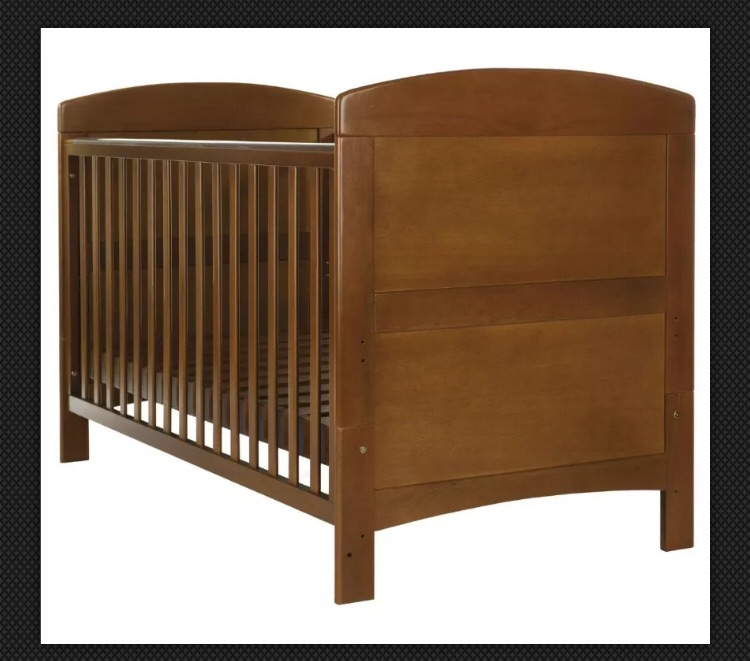Cot Bed - Excellent Condition