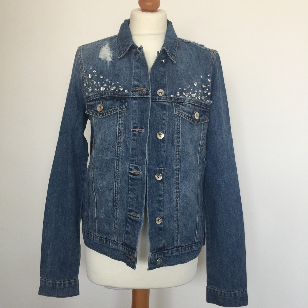 Women's denim jacket medium