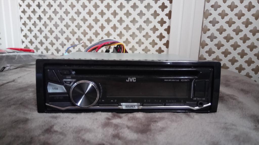 Jvc kd r471 car radio
