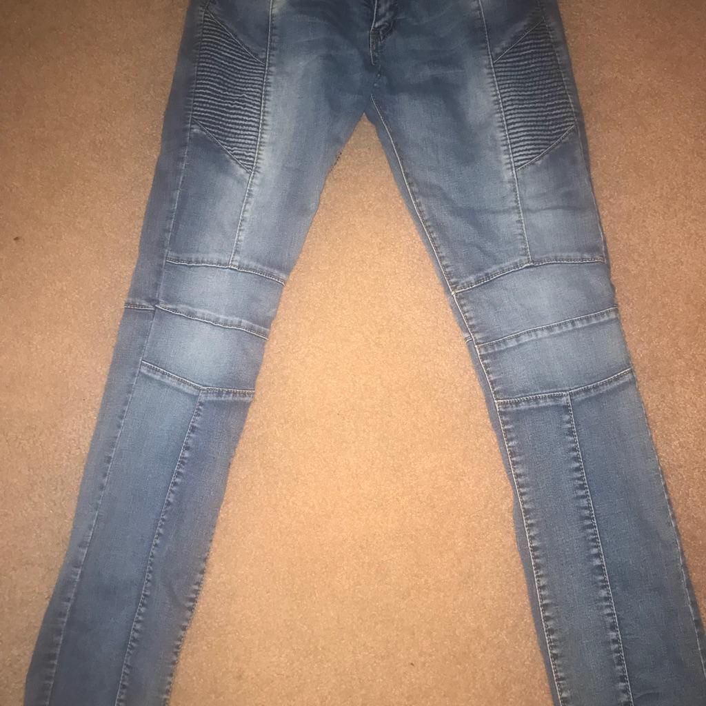 Biker jeans size 34