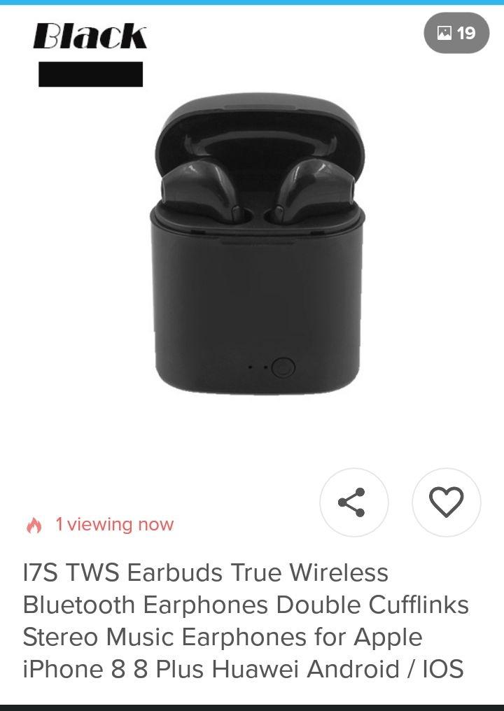 Earphones Altogether For Sale.