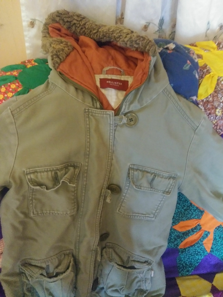 Hollister jacket.. Medium