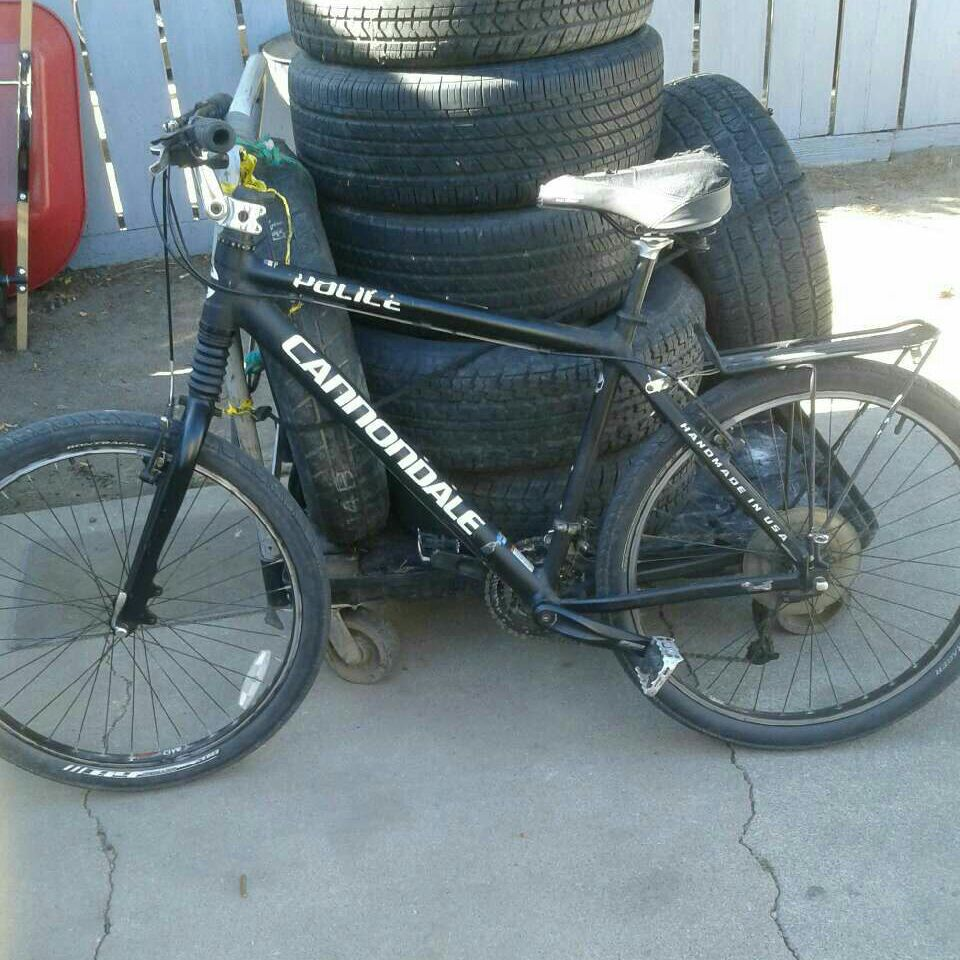 Black Police Issued Cannondale