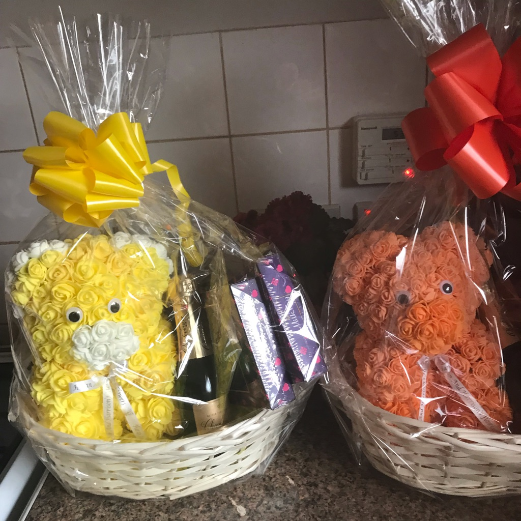 Mothers Day hampers .