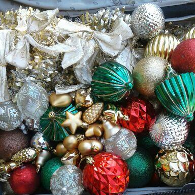 Mix Christmas crystal balls