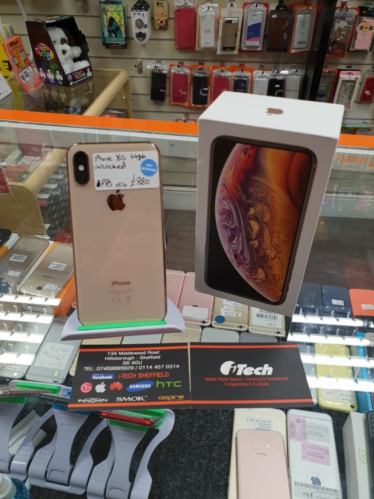 IPHONE XS 64gb like new gold