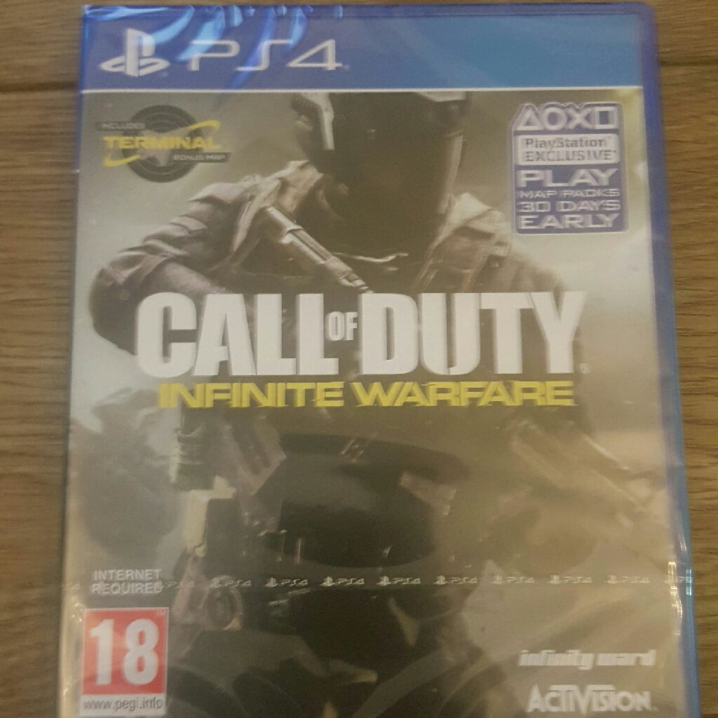 PS4 GAME CALL OF DUTY INFINITE WARFARE SEALED