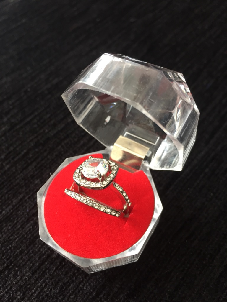 Sapphire ring set size size L