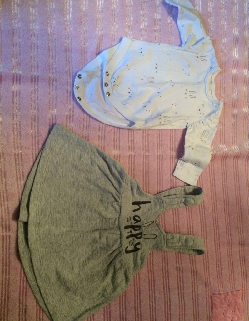 0-3 month mothercare outfit