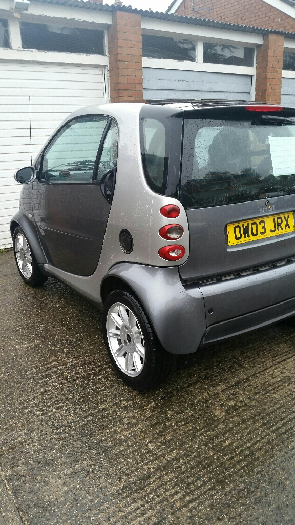 2003 smart fortwo city pulse