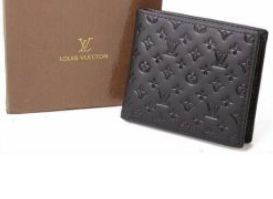 New black Louis Vuitton wallet