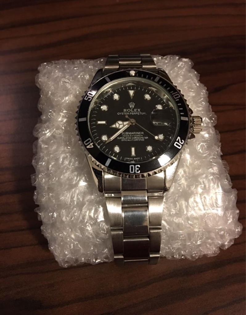 Rolex Oyster Perpetual Submariner Black Faced