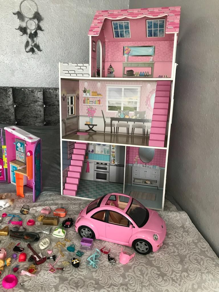 Barbie house and stuff