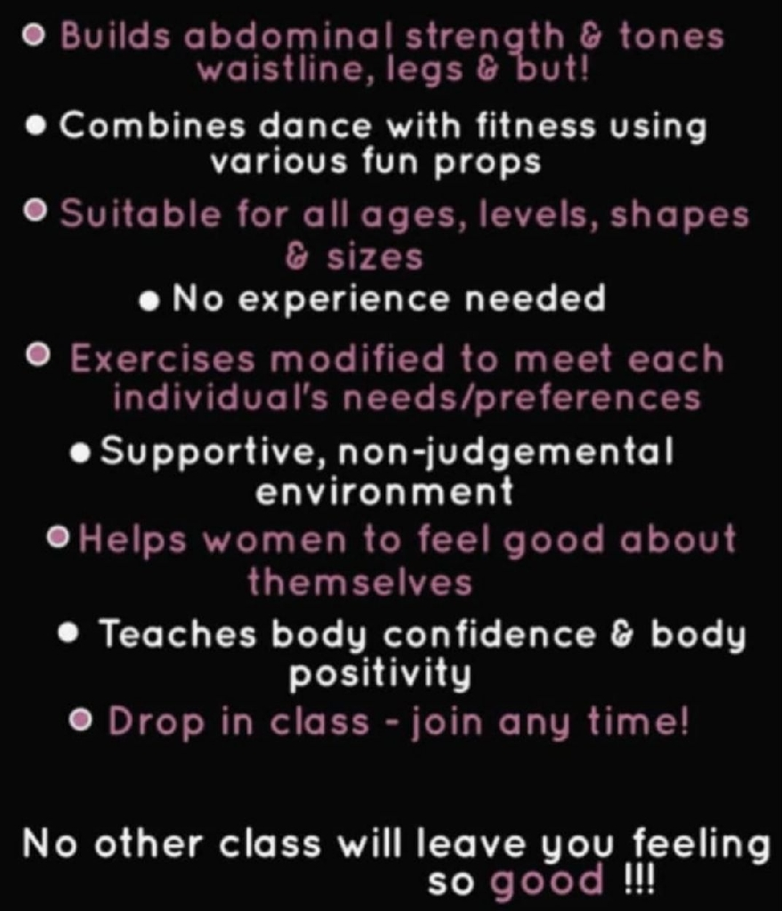Burlesque/fitness classes