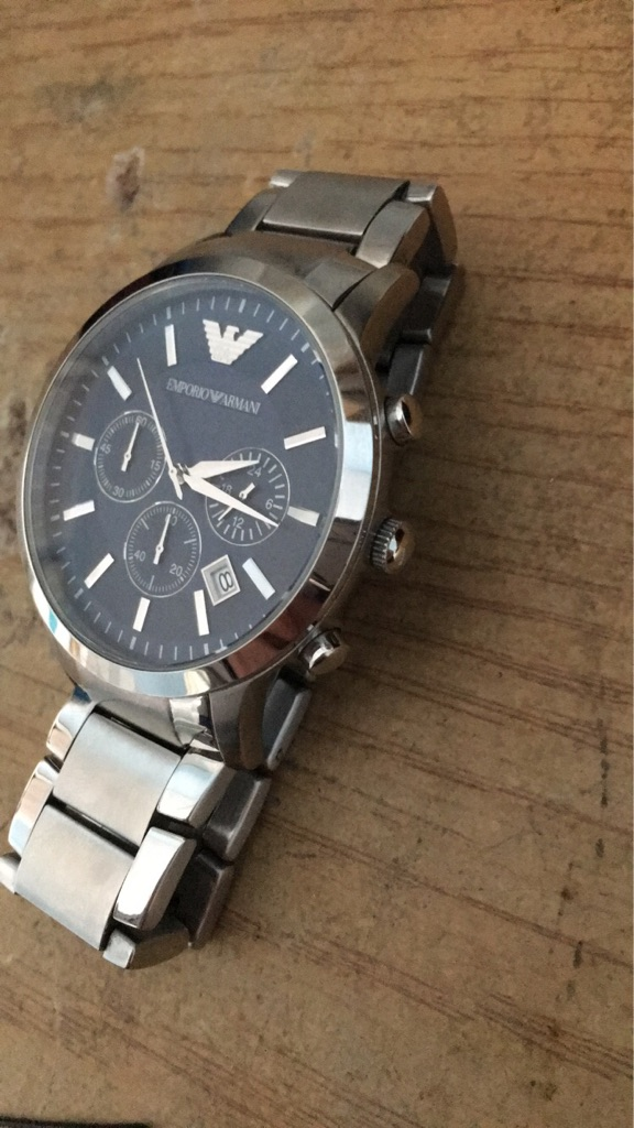 Armani watch/stainless steel AR2448