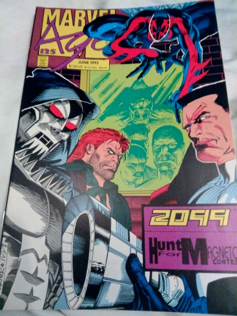 Marvel Age #125
