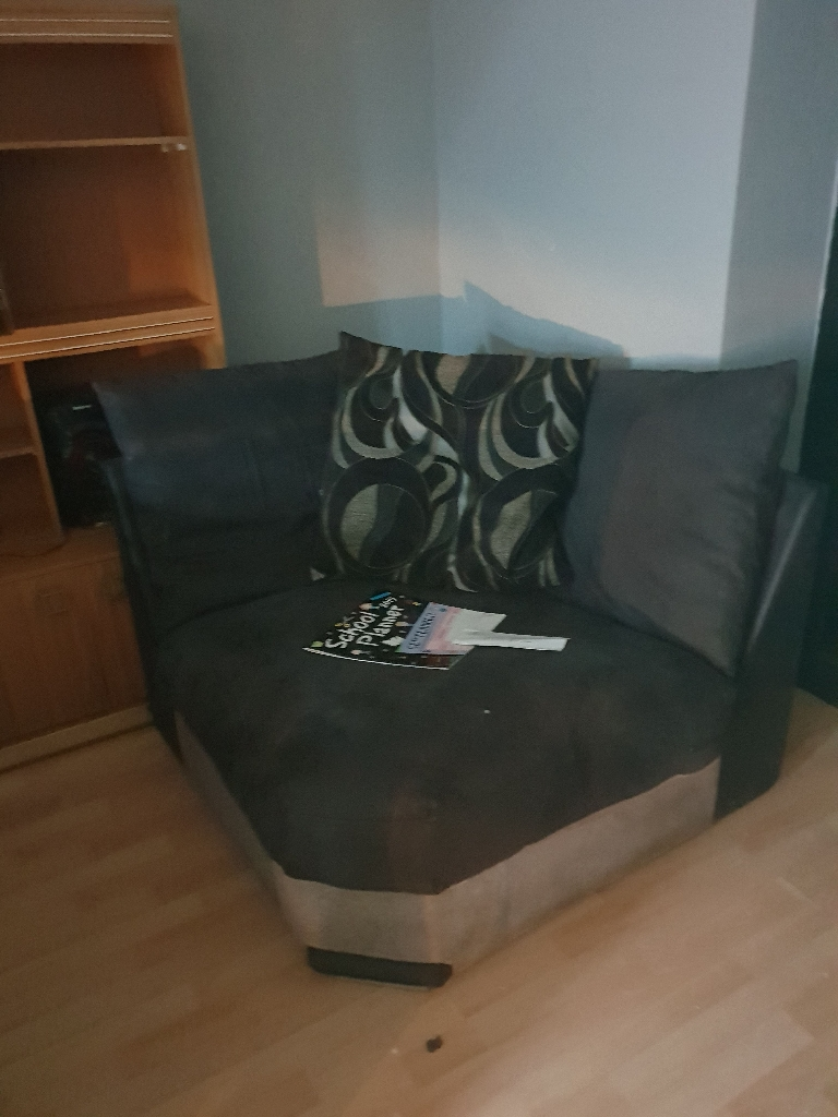 Large family corner sofa