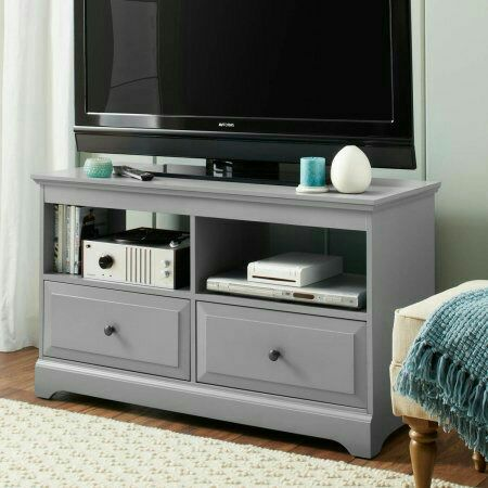 New Better Homes & Gardens Savannah 2 Drawer Media Console TV stand for TVs up to 55""