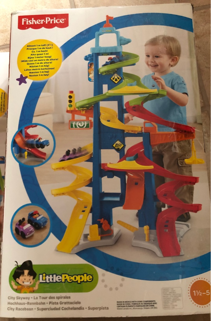 Fisher price little people's track