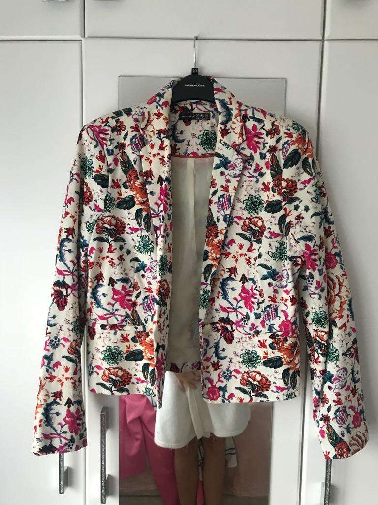 *LIKE NEW* floral primark blazer