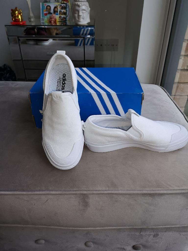 Ladies Adidas slip ons