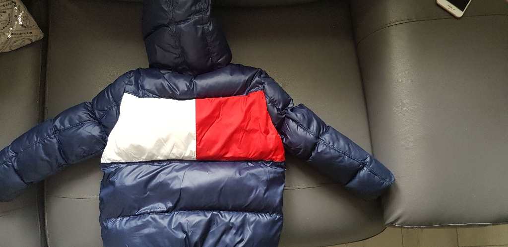 Boys Tommy Hilfiger Padded Jacket age 4
