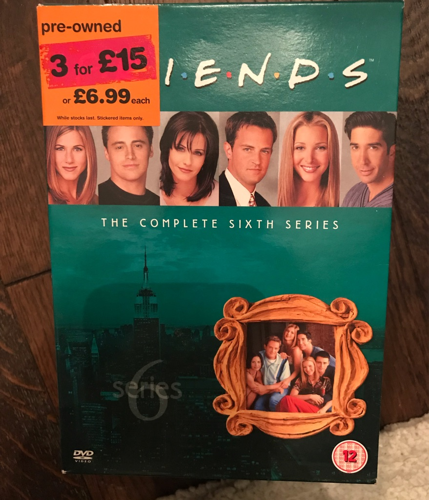Friends Season 6 on DVD