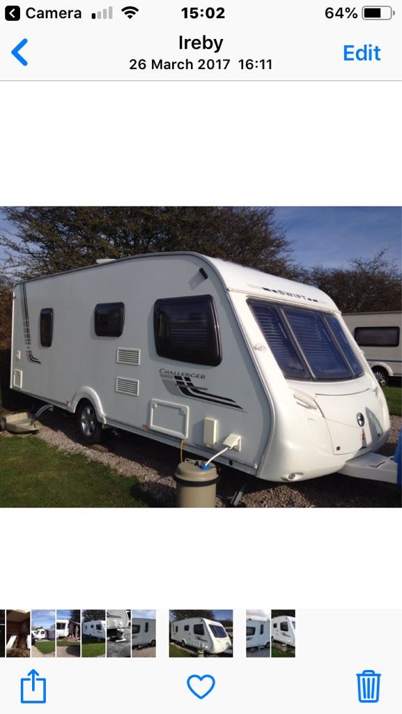 Swift Challenger 570 4 Berth touring caravan