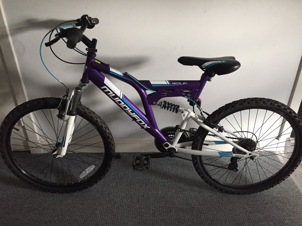 Girls 24inch Muddyfox Recoil Mountain Bike