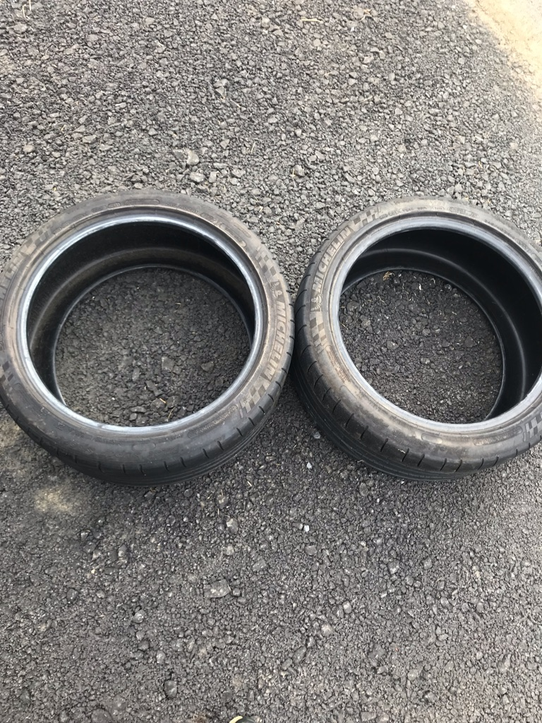 Two used Michelin Pilot Super Sport P245/40ZR18 97Y XL