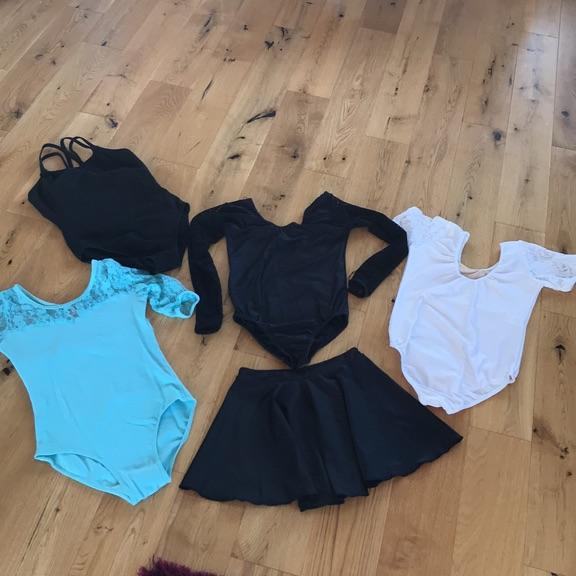 Leotards and skirt bundle