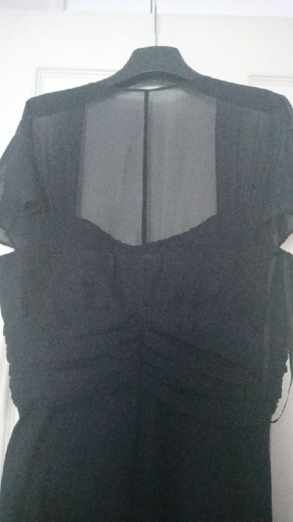 Hi This Pauline Good Quality Fenwick Size12 Dress Good For Womens Weddings And Evening Blue N