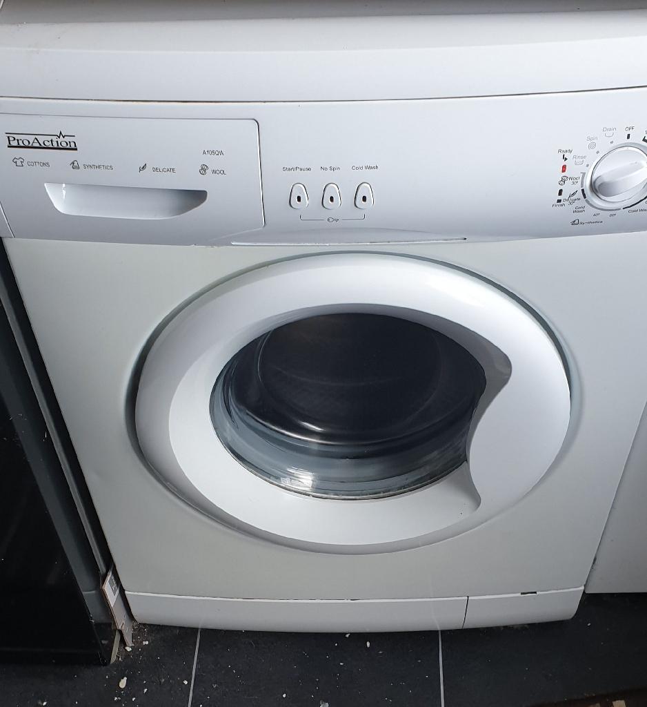 6kg pro action washing machine