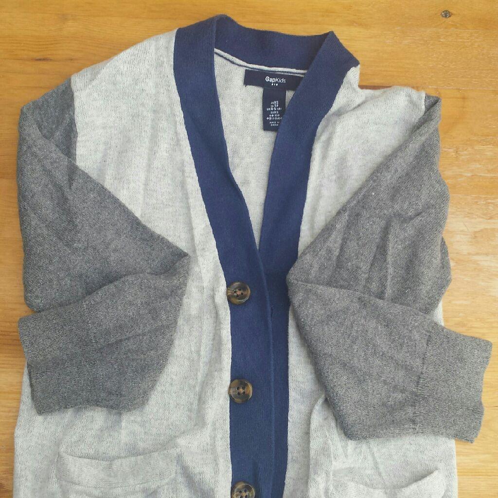 Gap 2 colour cardigan 4-5 Years-110cm