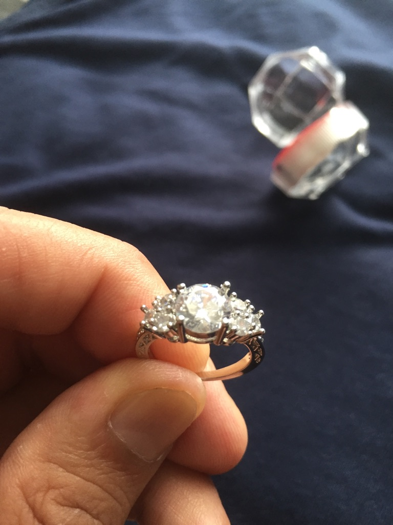 Sapphire ring size M 2 available
