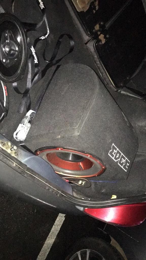 Edge car subwoofer