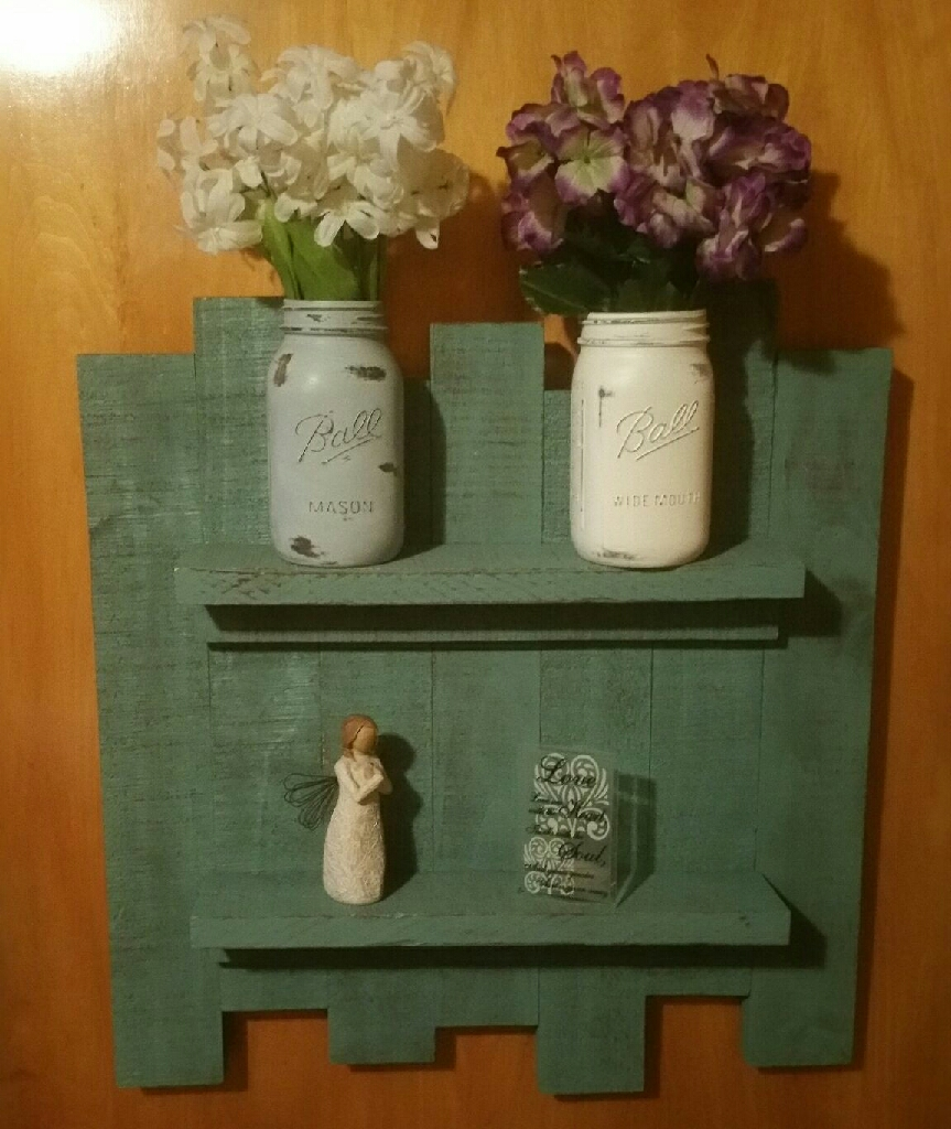 Handmade wooden wall decor!